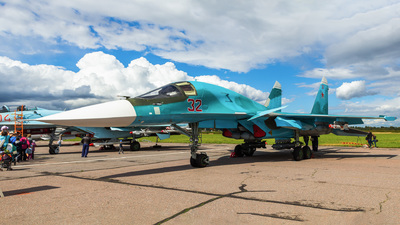 RF-95844 - Sukhoi Su-34 Fullback - Russia - Air Force
