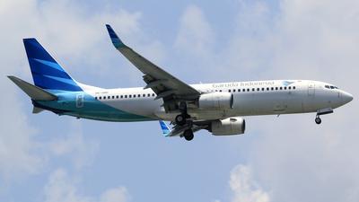 A picture of PKGNH - Boeing 7378U3 - Garuda Indonesia - © M. Raykahn Ariga
