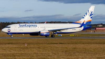 A picture of DASXA - Boeing 7378Z9 - SunExpress - © marfi80