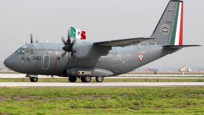 3403 - Alenia C-27J Spartan - Mexico - Air Force