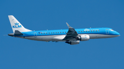 PH-EZV - Embraer 190-100STD - KLM Cityhopper