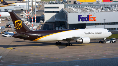 A picture of N364UP - Boeing 767346(ER)(BCF) - UPS Airlines - © Jeremy Denton