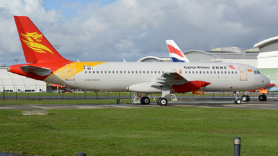 F-WWII - Airbus A320-251N - Capital Airlines