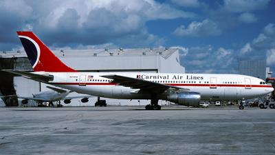 N226KW - Airbus A300B4-203 - Carnival Air Lines