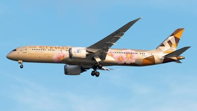 A6-BLK - Boeing 787-9 Dreamliner - Etihad Airways