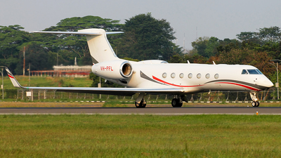 VH-PFL - Gulfstream G550 - Private