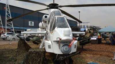 671 - Denel AH-2A Rooivalk - South Africa - Air Force