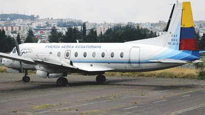 HC-AUK - Hawker Siddeley HS-748 - Ecuador - Air Force