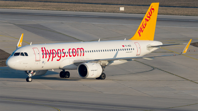 A picture of TCNCD - Airbus A320251N - Pegasus Airlines - © Alp DAYANIKLIOGLU