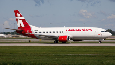 C-FFNE - Boeing 737-406(C) - Canadian North