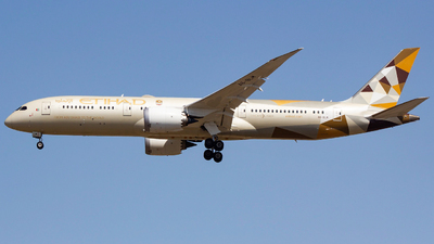 A picture of A6BLM - Boeing 7879 Dreamliner - Etihad Airways - © sseca