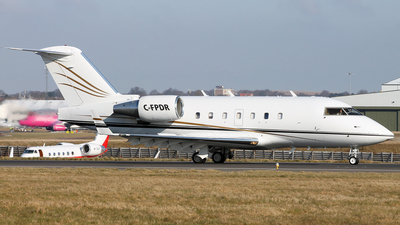C-FPDR - Bombardier CL-600-2B16 Challenger 601-3R - North Cariboo Air