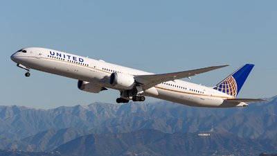 N14001 - Boeing 787-10 Dreamliner - United Airlines