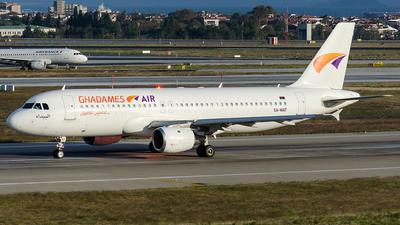 5A-WAT - Airbus A320-211 - Ghadames Air Transport