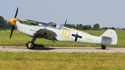 G-AWHK - Hispano HA1112 M1L Buchon - Historic Flying