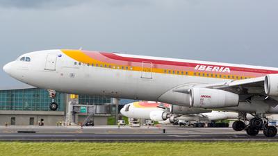 EC-GHX - Airbus A340-313 - Iberia