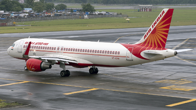 A picture of VTEXA - Airbus A320214 - Air India - © Arjun Sarup
