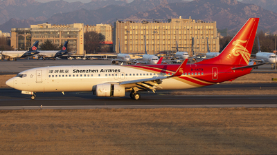 A picture of B1479 - Boeing 73787L - Shenzhen Airlines - © SEN BAI
