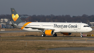 D-AYAX - Airbus A321-211 - Thomas Cook Airlines