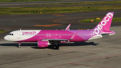 JA824P - Airbus A320-214 - Peach Aviation