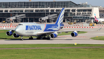 N952CA - Boeing 747-428(BCF) - National Airlines