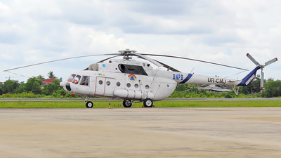 UR-CMJ - Mil Mi-8MTV Hip - BNPB - Indonesian National Board for Disaster Management