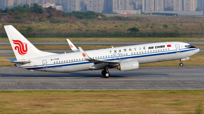 B-1738 - Boeing 737-89L - Air China