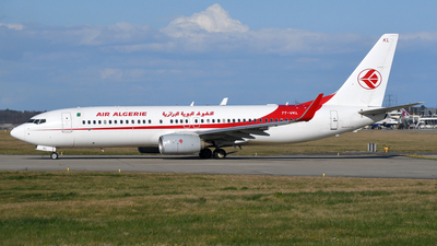 A picture of 7TVKL - Boeing 7378D6 - Air Algerie - © Paul Denton