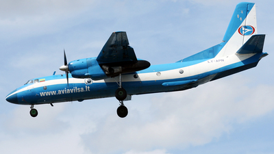 LY-APN - Antonov An-26B - Aviavilsa