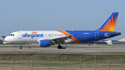 N283NV - Airbus A320-214 - Allegiant Air
