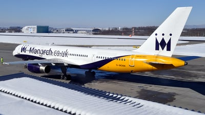 G-MONK - Boeing 757-2T7 - Monarch Airlines