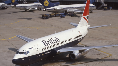 G-BKYB - Boeing 737-236(Adv) - British Airways