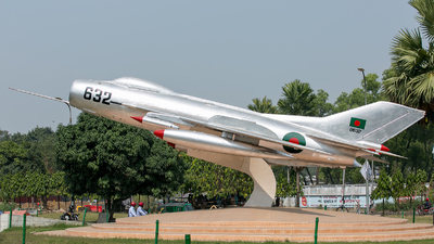 8632 - Shenyang F-6 - Bangladesh - Air Force