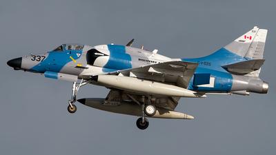 A picture of CFGZS - McDonnell Douglas A4N Skyhawk - [14337] - © Pedro Castellano García