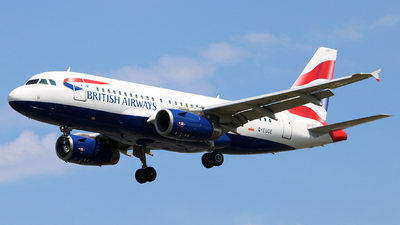 A picture of GEUOE - Airbus A319131 - British Airways - © Domenic Armaghanian
