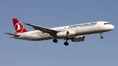 TC-JRF - Airbus A321-231 - Turkish Airlines
