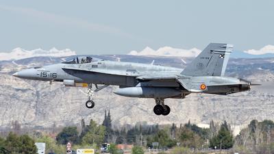 C.15-29 - McDonnell Douglas EF-18A+ Hornet - Spain - Air Force