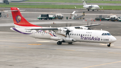 B-22818 - ATR 72-212A(600) - TransAsia Airways