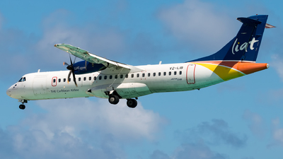 V2-LIB - ATR 72-212A(600) - Leeward Islands Air Transport (LIAT)