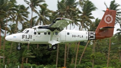 A picture of DQFLA - Viking DHC6400 Twin Otter - Fiji Airways - © Peter Kesternich