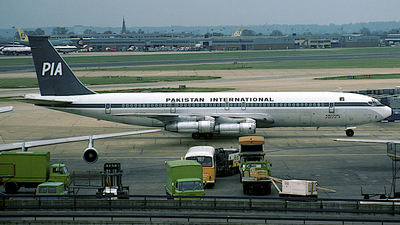AP-AWZ - Boeing 707-340C - Pakistan International Airlines (PIA)