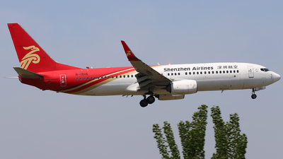 A picture of B1516 - Boeing 73787L - Shenzhen Airlines - © Dream it possible.