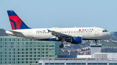 A picture of N335NB - Airbus A319114 - Delta Air Lines - © SR1