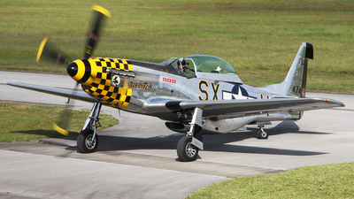 N51LW - North American TF-51D Mustang - Private