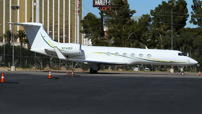 N749CP - Gulfstream G-V - Private