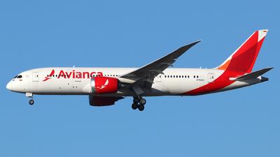 N782AV - Boeing 787-8 Dreamliner - Avianca