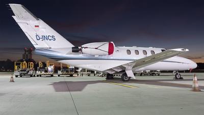A picture of DINCS - Cessna 525 CitationJet CJ1 - JK JetKontor - © Łukasz Stawiarz