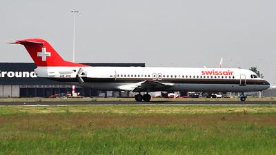 HB-IVC - Fokker 100 - Swissair