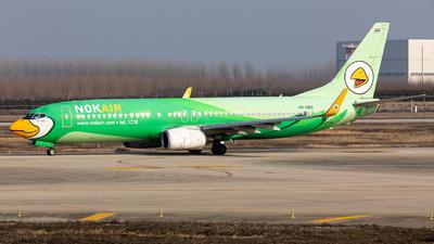 HS-DBG - Boeing 737-8FH - Nok Air