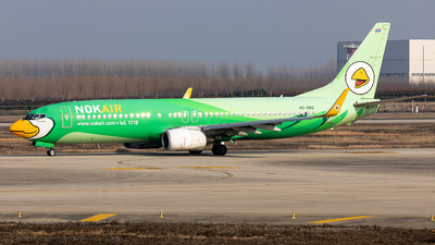 A picture of HSDBG - Boeing 7378FH - Nok Air - © Ji donghao